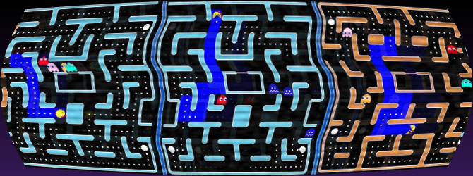 PacMan, using Artificial Intelligence